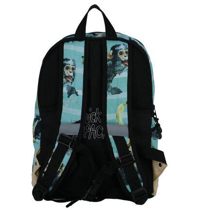 Pick & Pack Sacs à dos en Bleu clair en textile (260815)
