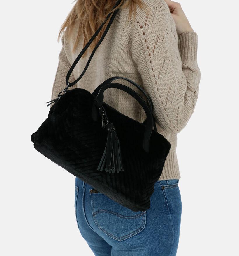Tamaris Sacs à main en Noir en textile (280623)