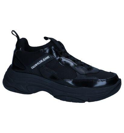 Zwarte Sneakers Calvin Klein Marvin in stof (249155)