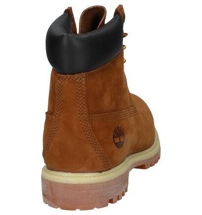 Timberland 6 Inch Premium Cognac Boots in nubuck (255586)