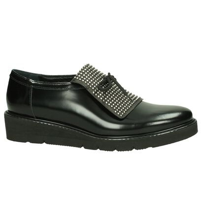 Love Chaussures à lacets en Noir en cuir (184970)