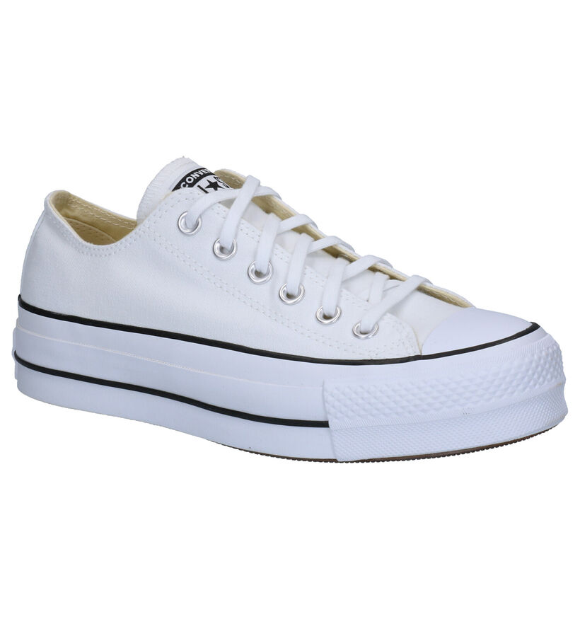 Converse Chuck Taylor All Star Lift Zwarte Sneakers in stof (266476)