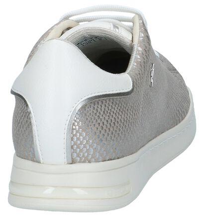 Zilveren Sneakers Geox Jaysen in stof (220163)