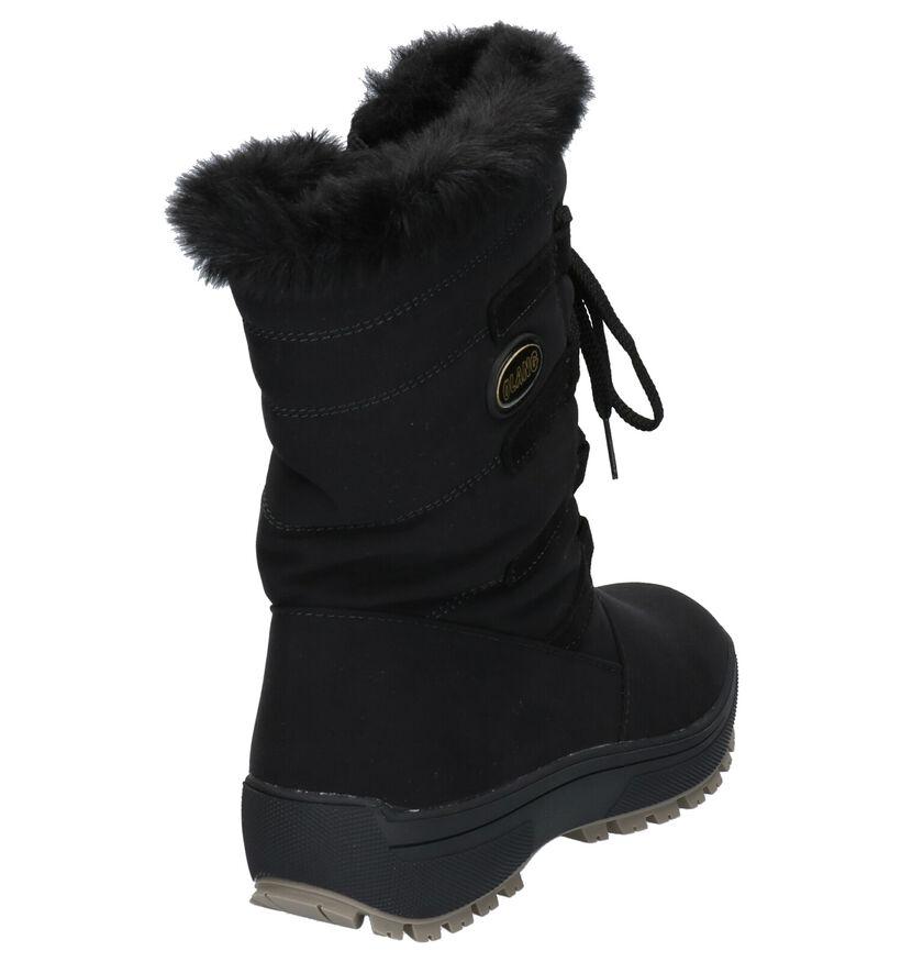 Olang Nora Bottes de neige en Noir en textile (262753)