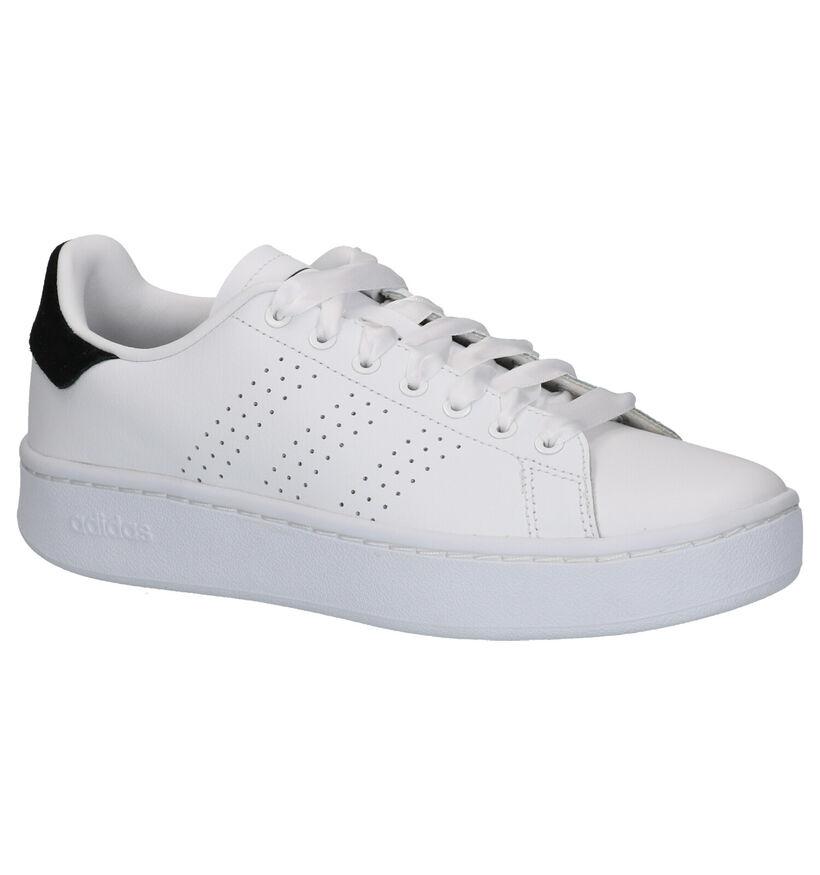 adidas Advantage Bold Witte Sneakers in kunstleer (252581)