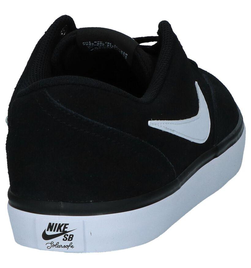 SB Baskets de skate en Noir en daim (234062)