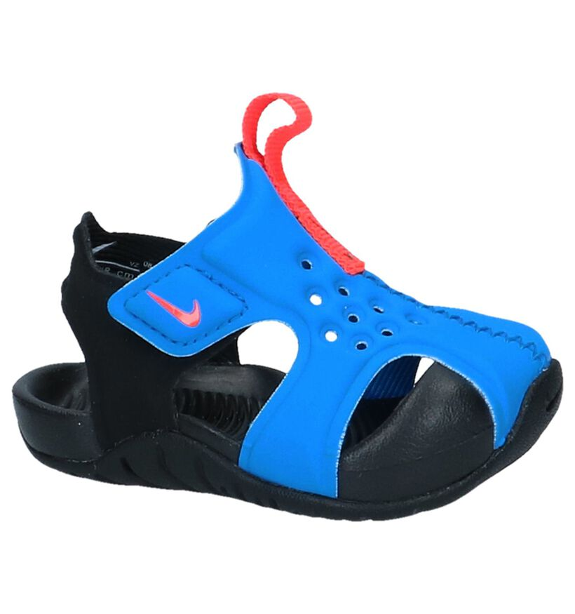 Blauwe Watersandaaltjes Nike Sunray Protect in kunststof (237871)