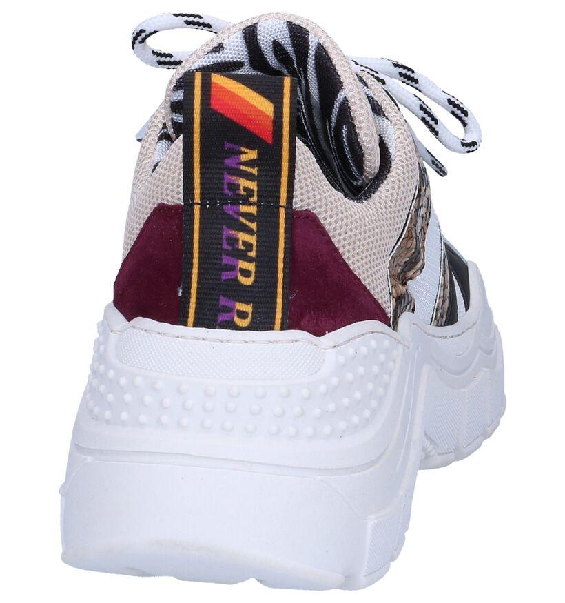 Witte Sneakers Clue in leer (262616)