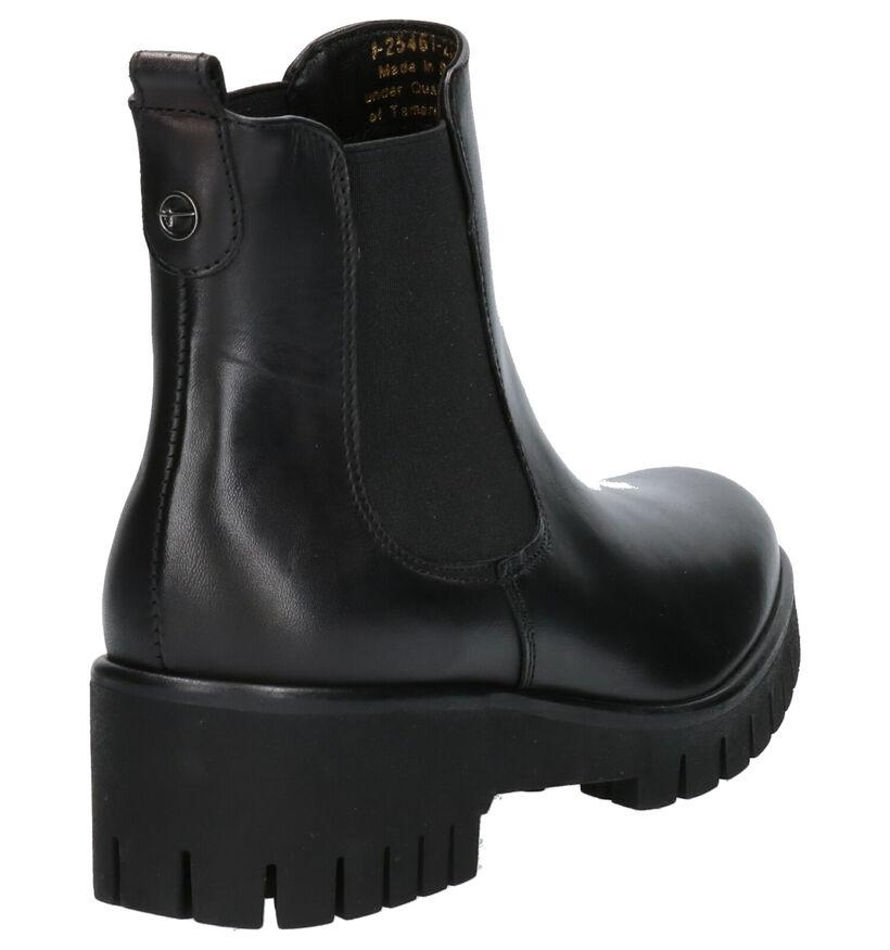 Tamaris TOUCH it Zwarte Boots in leer (257213)