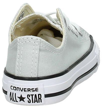 Converse Chuck Taylor All StarBaskets basses en Noir en textile (238427)