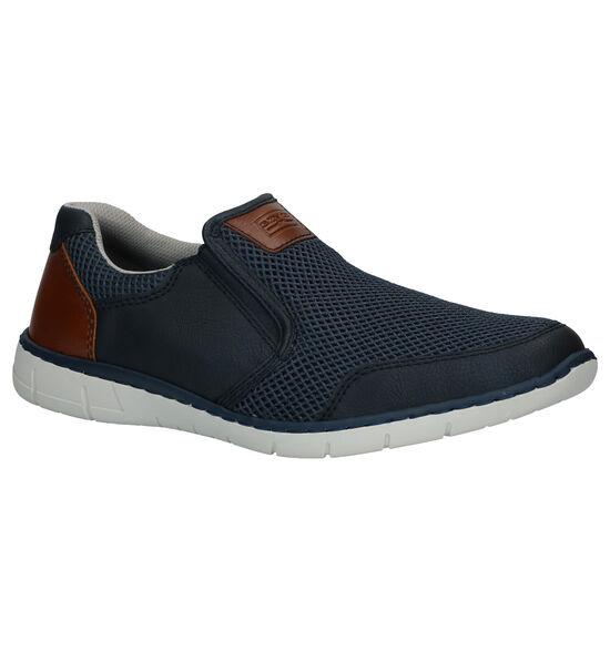 Rieker Chaussures slip-on en Bleu foncé