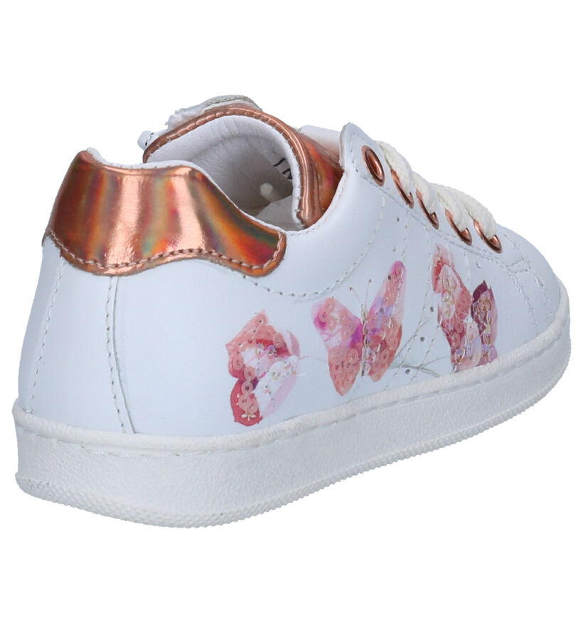 Kipling Magali Chaussures à Lacets en Blanc en cuir (272936)