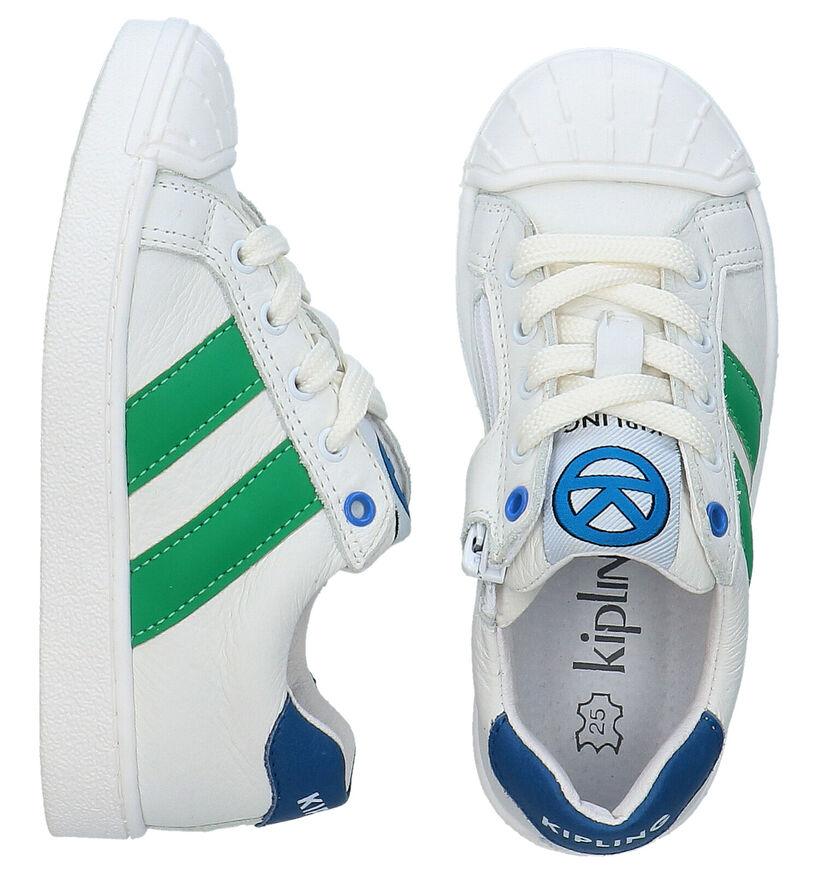 Kipling Efurio Witte Sneakers in leer (289363)