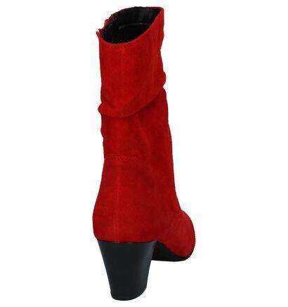 Rode Korte Laarzen Tamaris, Rood, pdp