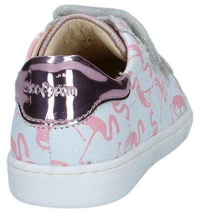 Witte Sneakers Shoo Pom Ducky Scratch in leer (242875)