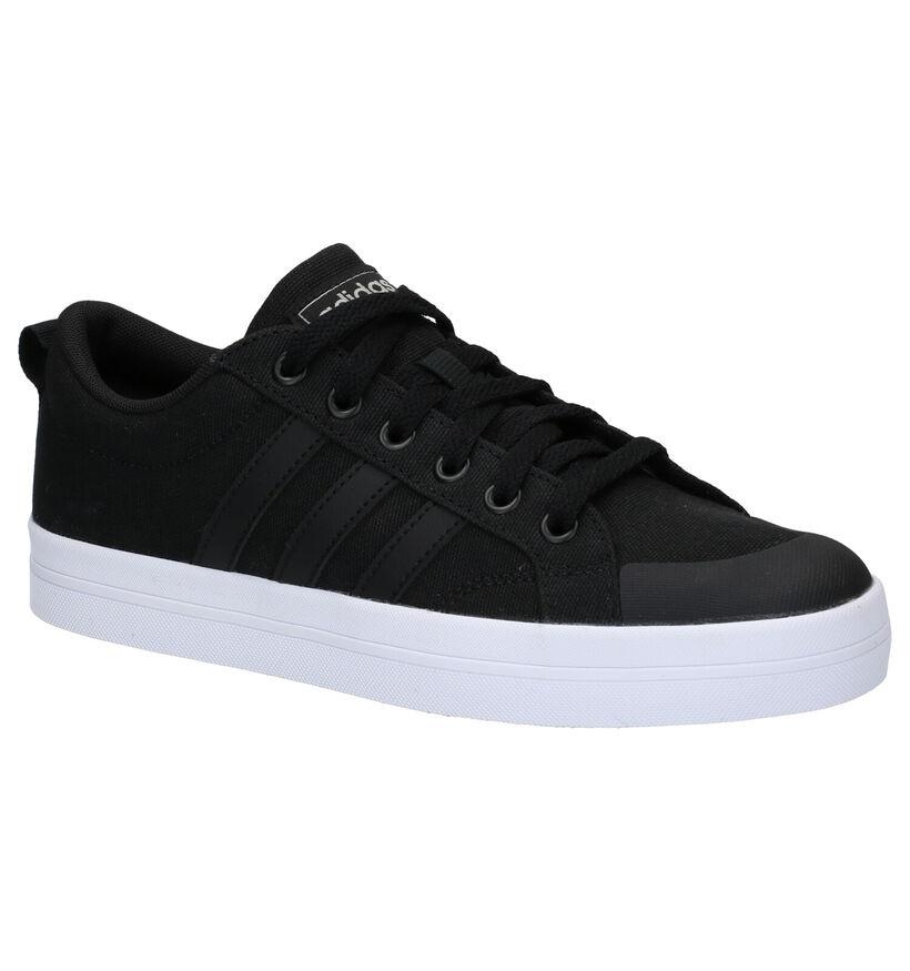 adidas Bravada Baskets en Noir en simili cuir (273049)