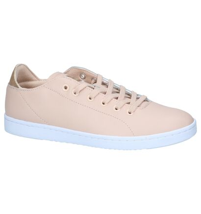 Witte Sneakers Woden Jane Leather, Roze, pdp
