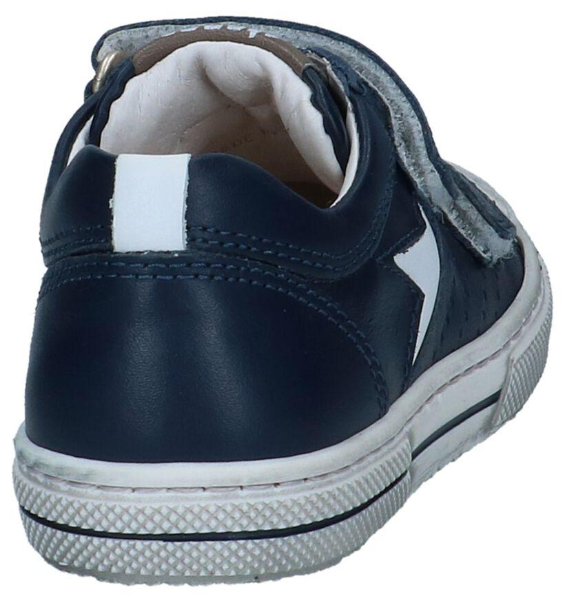 STONES and BONES Cheto Chaussures à velcro en Gris en cuir (267213)