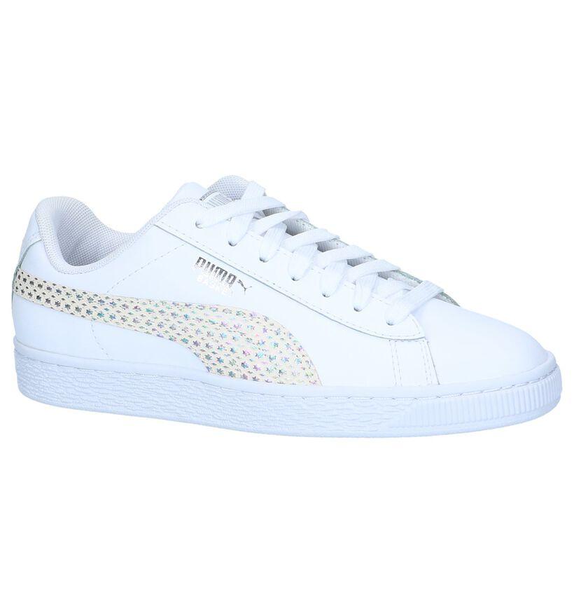 Puma Baskets basses en Blanc en cuir (239517)