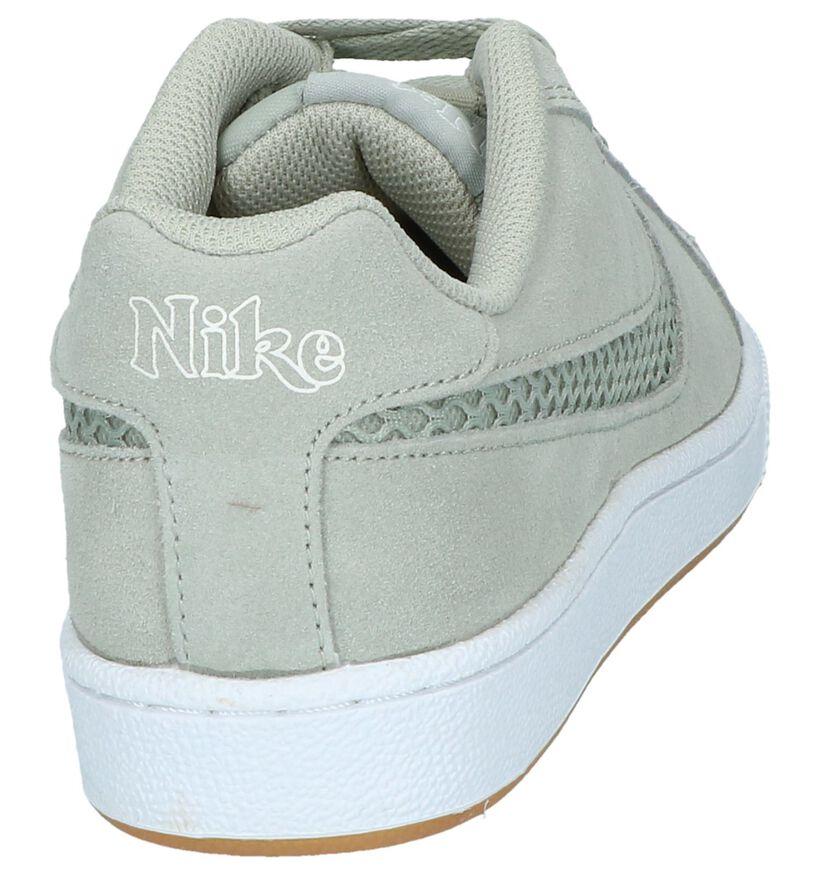Court Royale Baskets basses en Vert kaki en nubuck (237839)