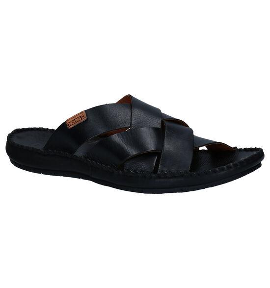 Pikolinos Tarifa Zwarte Slippers