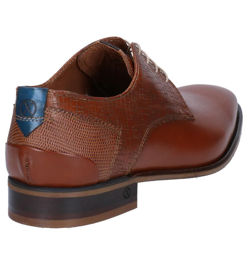 Ambiorix Eddy Chaussures habillées en Cognac en cuir (274885)