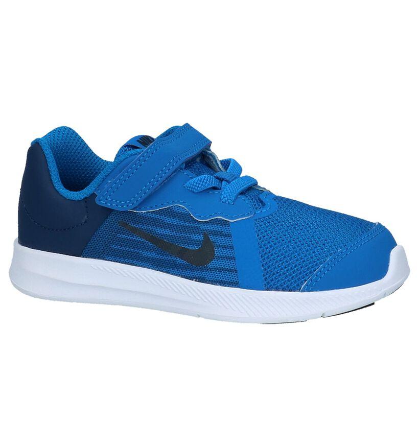Nike Baskets basses en Bleu en textile (219607)
