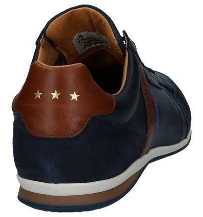 Pantofola d'Oro Chaussures basses en Bleu foncé en cuir (240823)