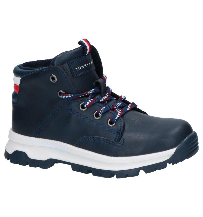 Tommy Hilfiger Chaussures hautes en Bleu foncé en simili cuir (257338)