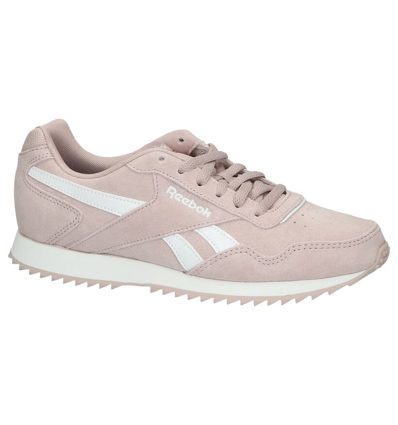 Reebok Royal Glide Witte Sneakers in leer (264671)