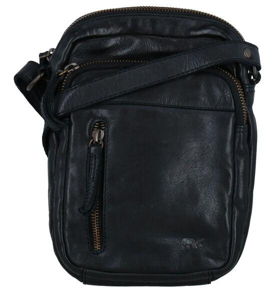 Bear Design Zwarte Crossbody Tas