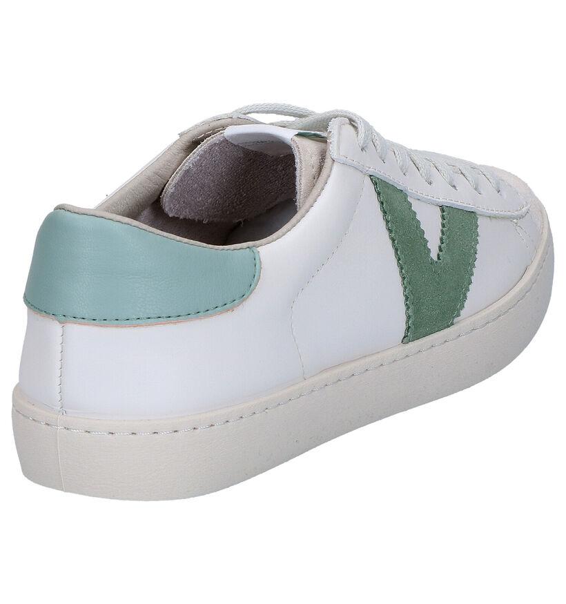 Victoria Chaussures à lacets en Écru en cuir (275069)