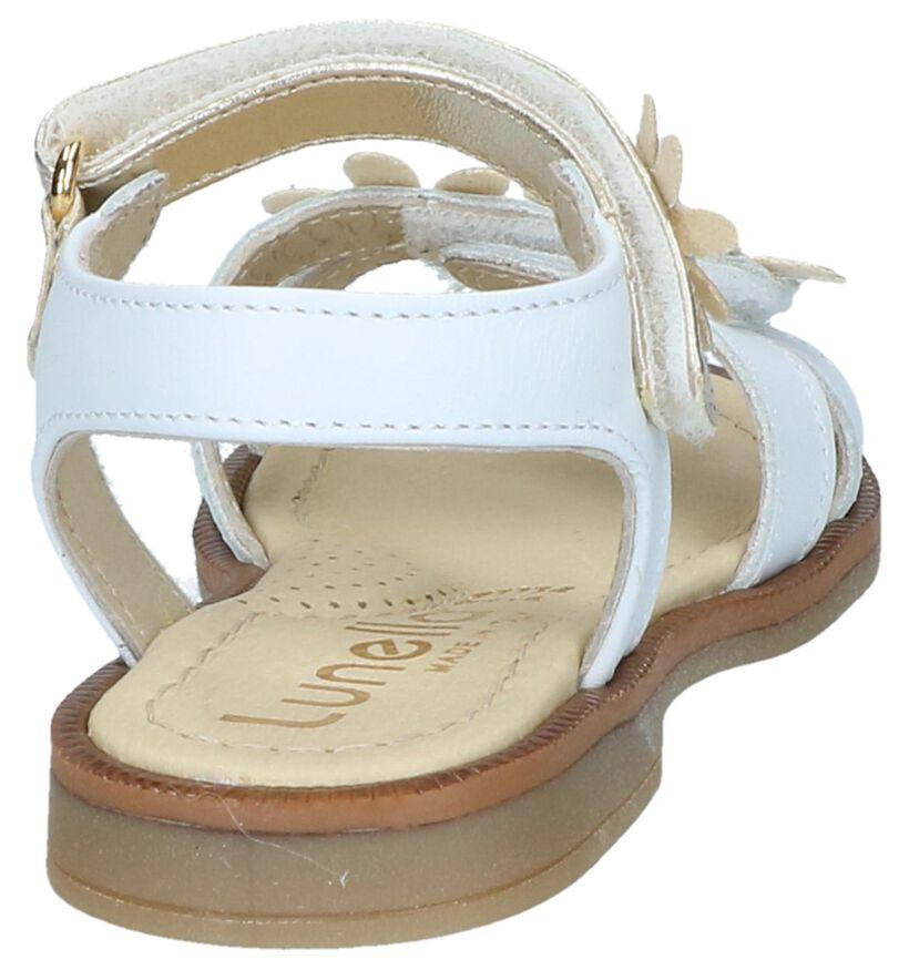 Witte Sandalen Lunella in leer (238977)
