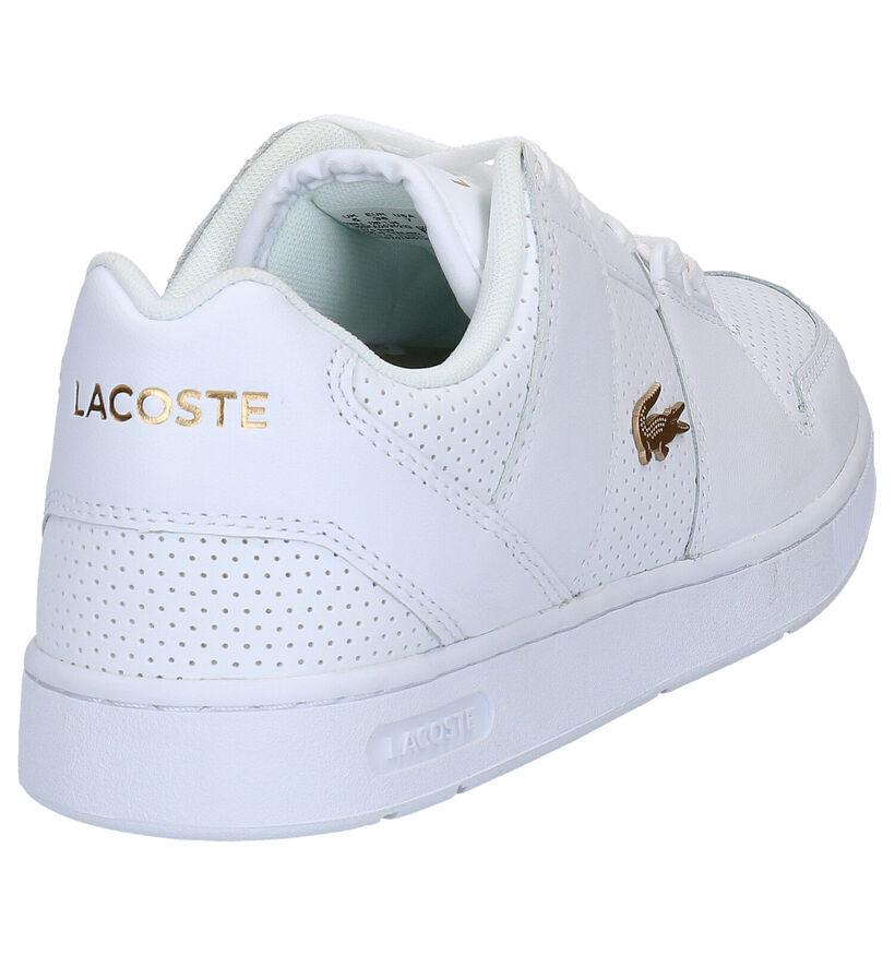 Lacoste Thrill Witte Sneakers in leer (266907)