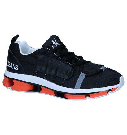 Zwarte Sneakers Calvin Klein Lex in stof (249156)