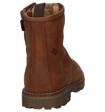 Lunella Chaussures hautes en Cognac en cuir (223026)