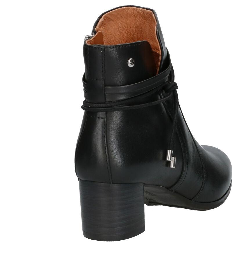 Pikolinos Calafat Bottillons en Noir en cuir (261464)