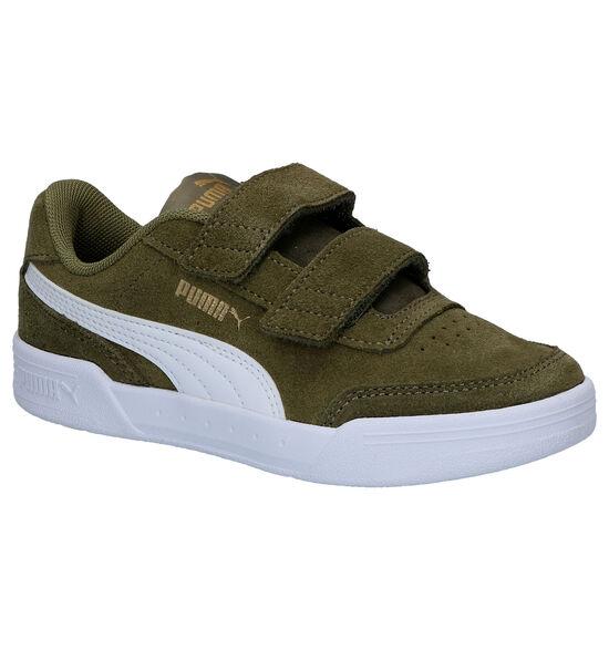Puma Caracal Kaki Sneakers