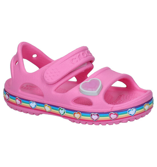 Crocs Fun Lab Rainbow Roze Sandalen