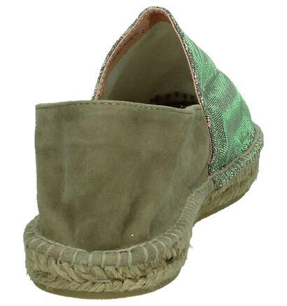 Gaimo Espadrilles en Taupe en cuir (173661)