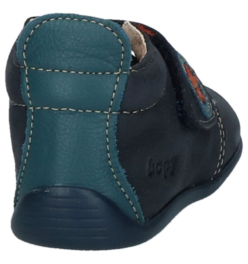 Bopy Chaussures pour bébé  en Bleu foncé en nubuck (224420)