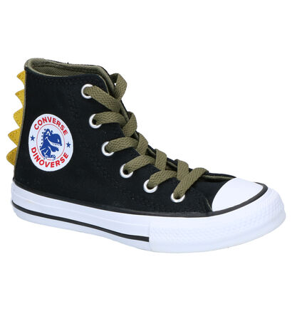 Converse Chuck Taylor AS Zwarte Sneakers in stof (252744)