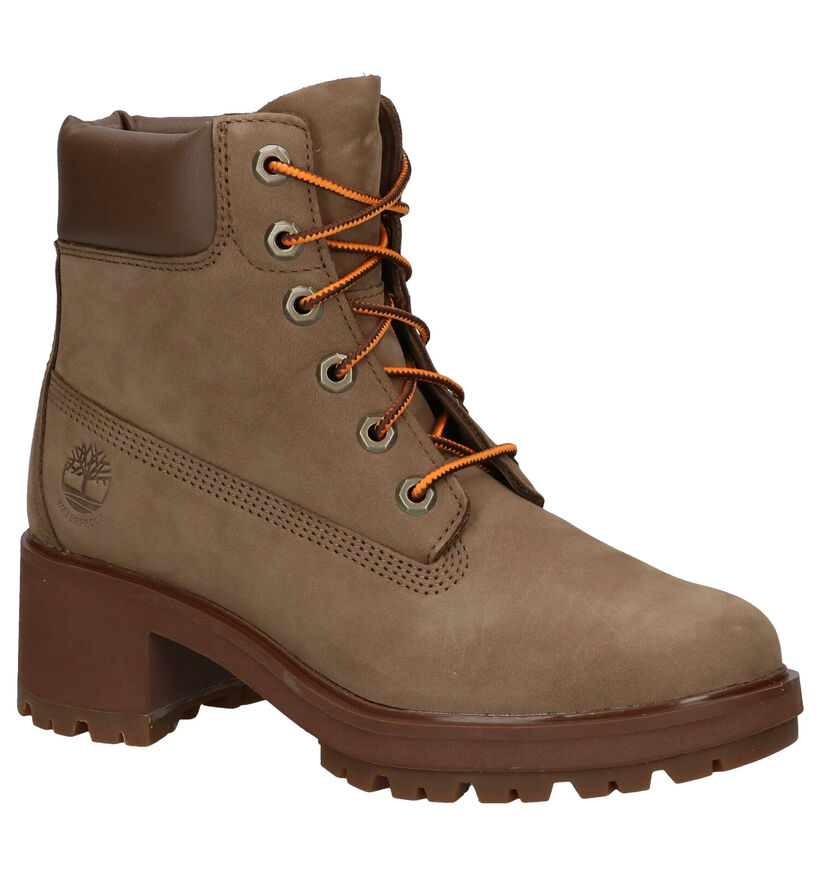 Timberland Kingsley Taupe Boots in nubuck (278852)