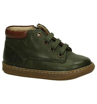 Shoo Pom Chaussures hautes en Vert en cuir (204672)