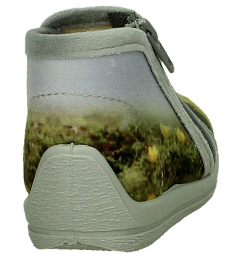 Grijze Bellamy Pim Pantoffels in stof (206407)