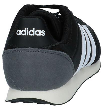 adidas Racer Baskets basses en Noir en textile (237213)