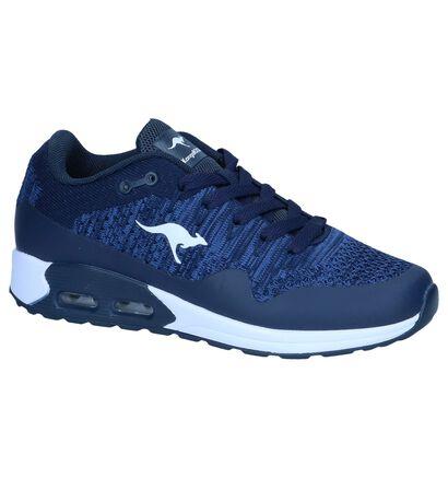 Donkerblauwe Sneakers KangoROOS Kanga X5000 in kunststof (245137)