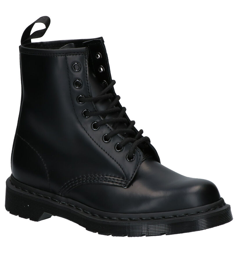 Dr. Martens 1460 Smooth Zwarte Boots in leer (253108)