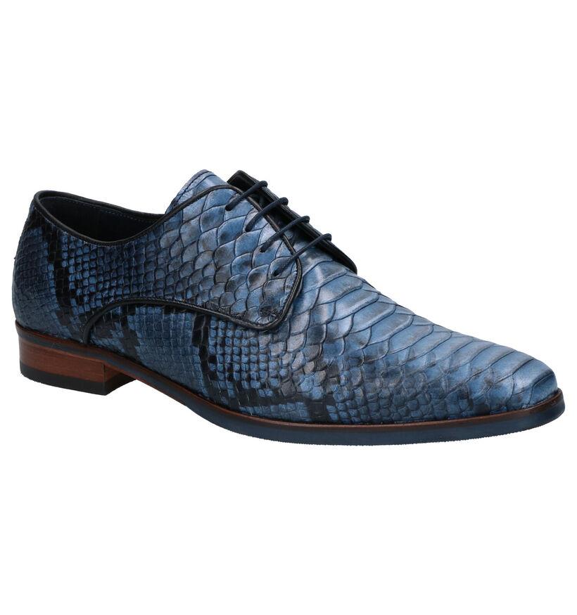 Via Borgo Chaussures habillées en Marron en cuir (273001)