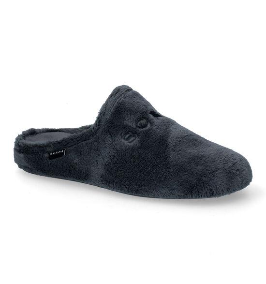 Scapa Grijze Pantoffels